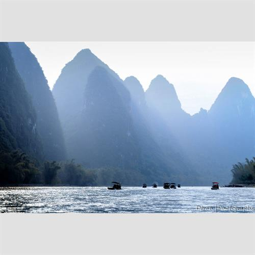 Guilin landscape 8""