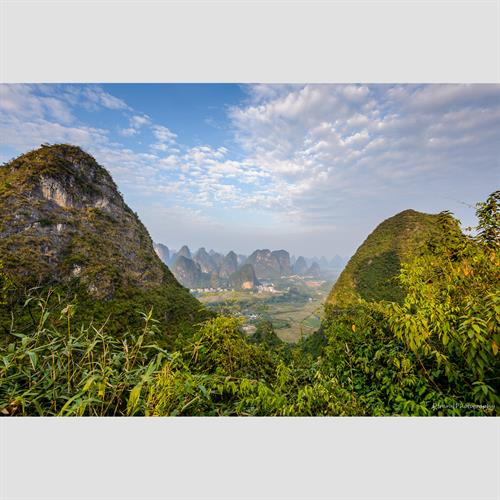 Guilin landscape 6""